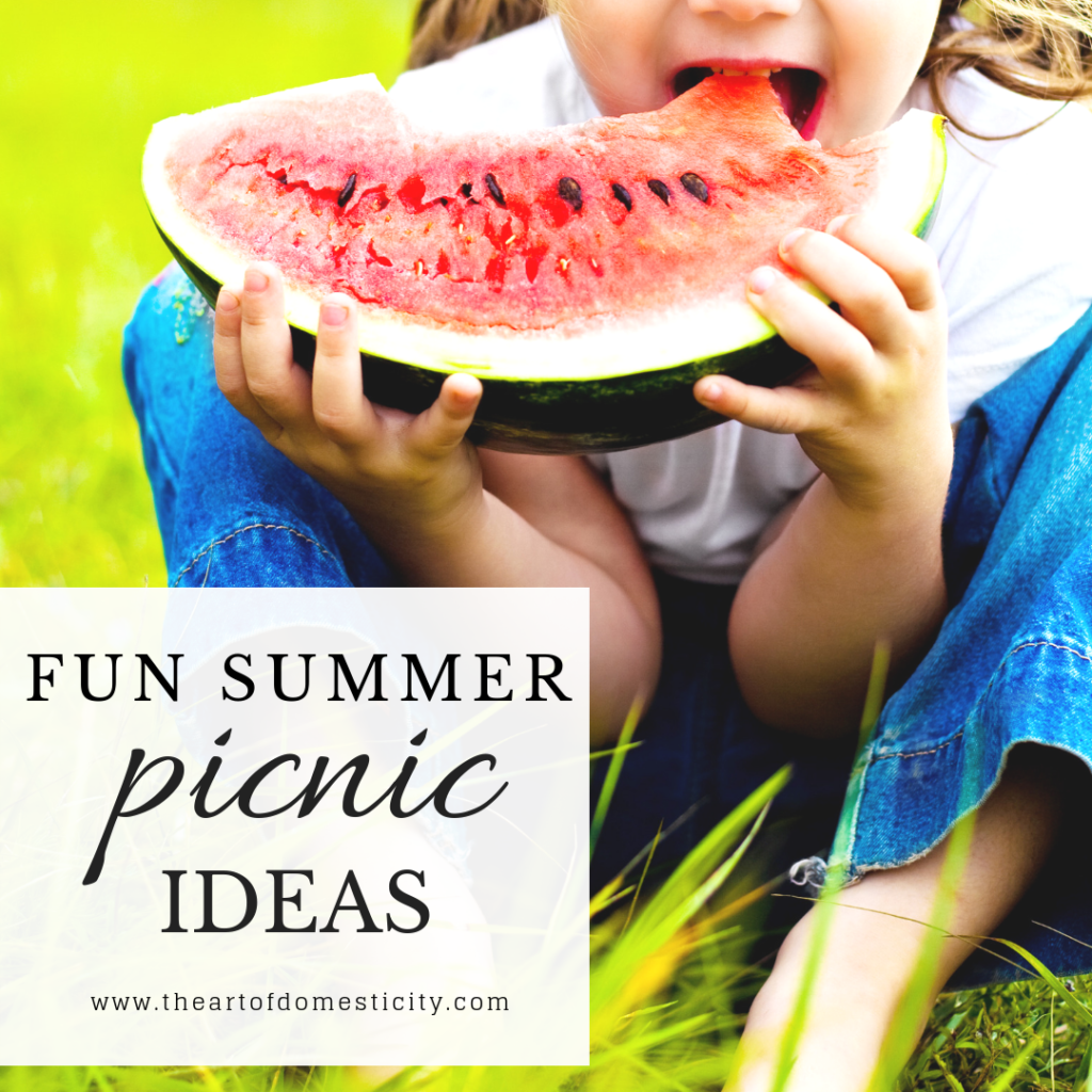 Fun Summer Picnic Ideas