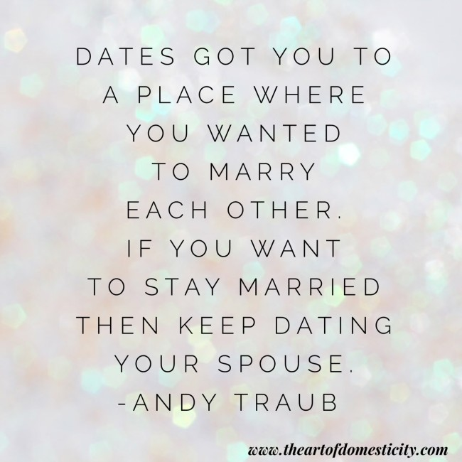 One Month Before Wedding Quotes: Date Your Mate