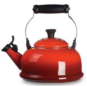 red tea kettle