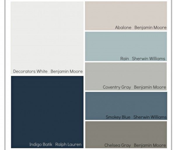 You don't have to be an interior designer to design with the color Indigo! I am in love with these design ideas.