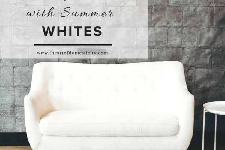 Refresh Your Home With Summer Whites