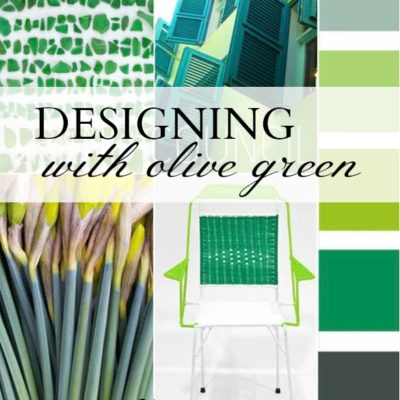 Designing with Olive Green