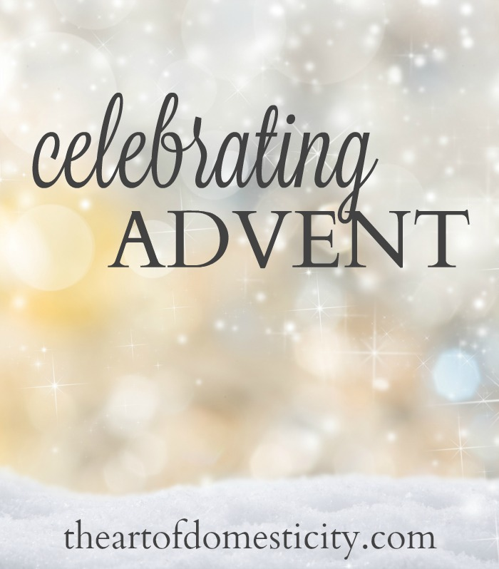 "Several years ago, in an effort to help our kids think about the true meaning of Christmas, my husband and I started celebrating the Advent season in a more deliberate way with them. Advent means ""coming,"" and Advent traditions help us keep our focus on the coming of the Savior in the midst of the glitter and hustle of the Christmas season.  Here are some of our favorite Advent traditions and activities!"