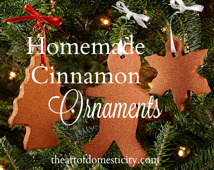 Are you looking for a fun Christmas DIY to do with the kids?? Homemade Cinnamon Ornaments are so fun and simple!
