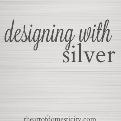 Designing With Silver