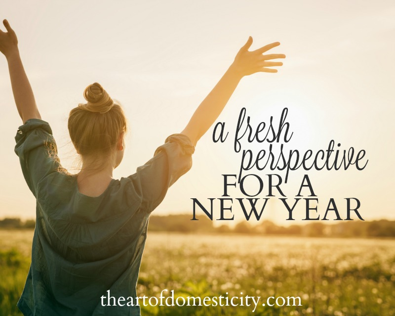 This is the time of year when many of us start to desire a fresh start in one or two (or sometimes ten) areas of our lives. But are we focusing on what matters most? Deep down it is so much more than just changing some aspect of our lives. It is about changing our perspective. How can we do that? Join me.....