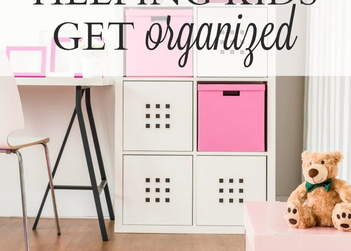 Helping Kids Get Organized