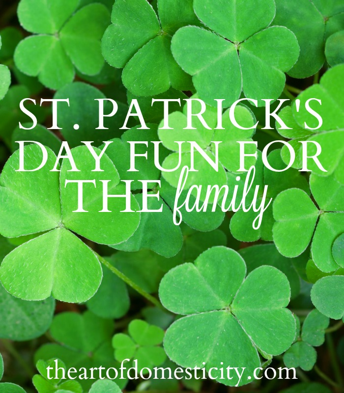 Looking for a fun playdate idea? Or just some creative activities for you and your kids? Here are some ideas for celebrating St. Patrick's Day….