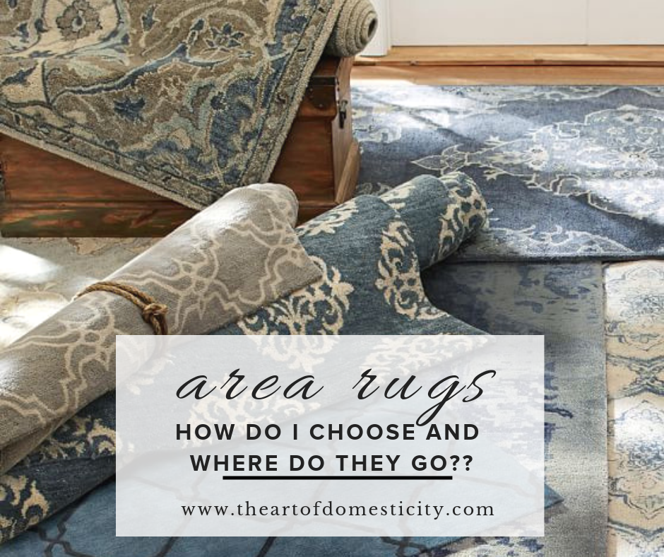 Finding the perfect area rug to compliment your home decor can be overwhelming! We are giving you all the tips here!