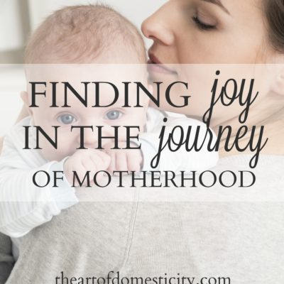 Finding Joy in the Journey of Motherhood
