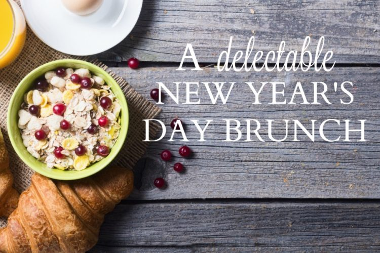 A Delectable New Year's Day Brunch
