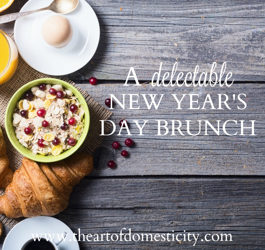 New Year's Day is right around the corner and we have a great menu for you! The kitchen often is the heart of a home, the gathering place of good smells and happy memories. Prepare a delicious brunch feast that brings joy and a celebratory mood for your family and guests celebrating the first day of the calendar year...