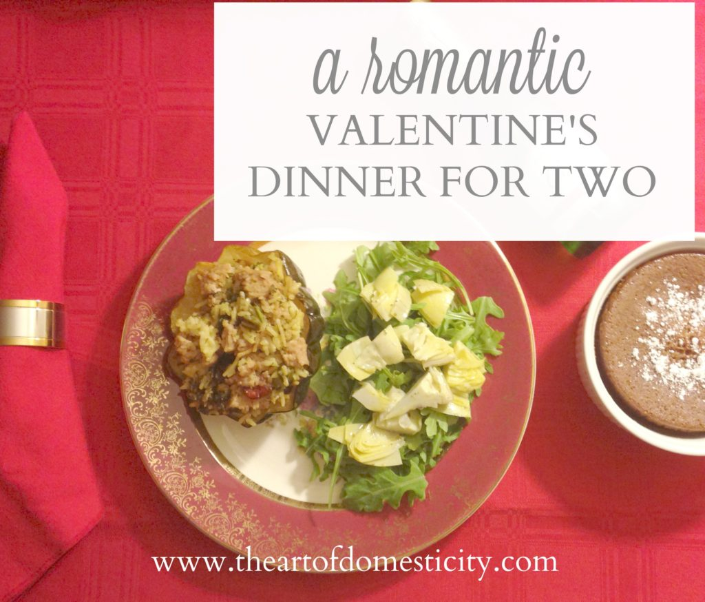 Are you looking for a delicious meal for Valentine's Day?? We have one all put together for you!