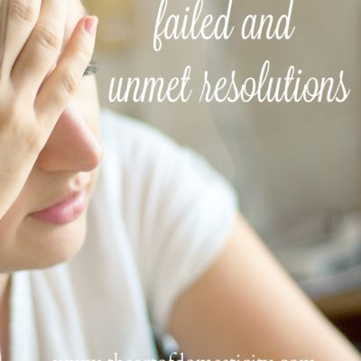 Failed and Unmet Resolutions