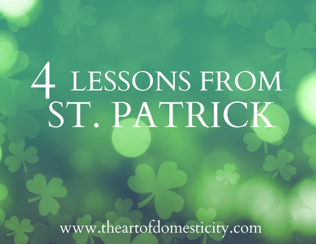 With St. Patrick's Day right around the corner, we are taking some time to focus on the things we can learn from his life. Here are four eye-opening, life-changing truths you won't want to miss....