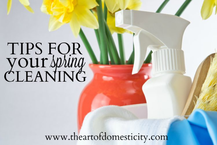 Tips For Your Spring Cleaning
