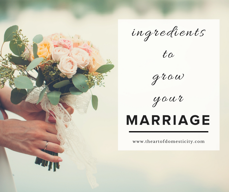 Has your marriage hit rock bottom? Are you feeling discouraged and despaired by the endless struggles?? Let us encourage you today that there is hope in the midst of the pain... let us show you the ingredients to grow your marriage starting today...