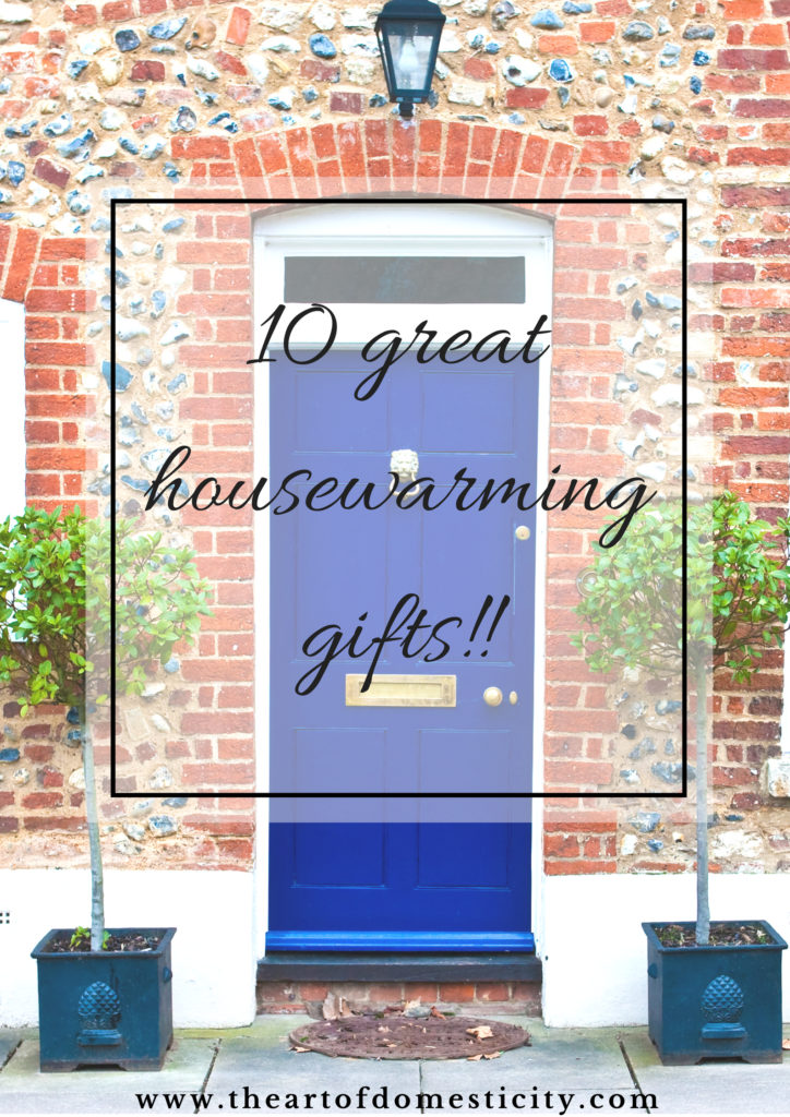 Moving into a new home is such an exciting time! Why not go the extra mile and bless your friend with a thoughtful gift to make their housewarming extra special?! Here are ten great housewarming gifts to show you care...