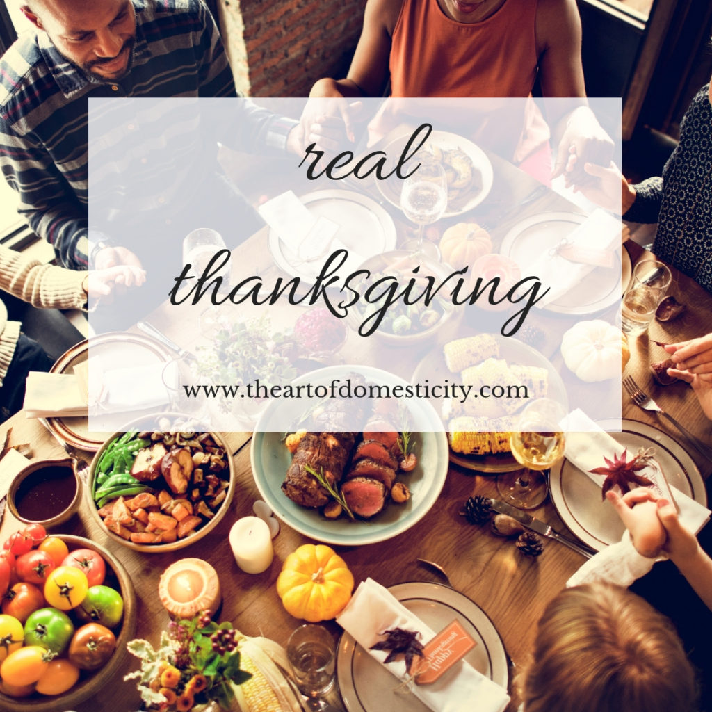 Thanksgiving is right around the corner and I love this time of year. But is us all thinking.... What is thanksgiving, truly? And for what should I give thanks? Read more here: