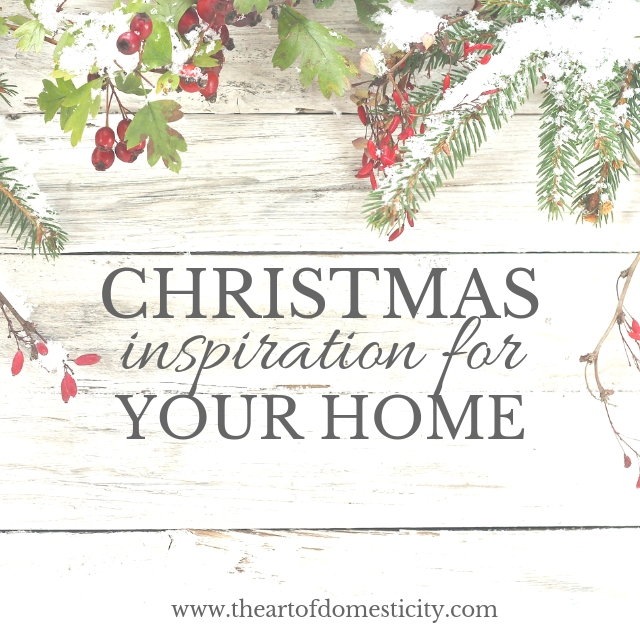 Christmas is right around the corner and I am sharing a few of my inspirations for the season!