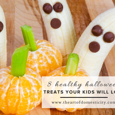 8 Healthy Halloween Treats Your Kids Will Love