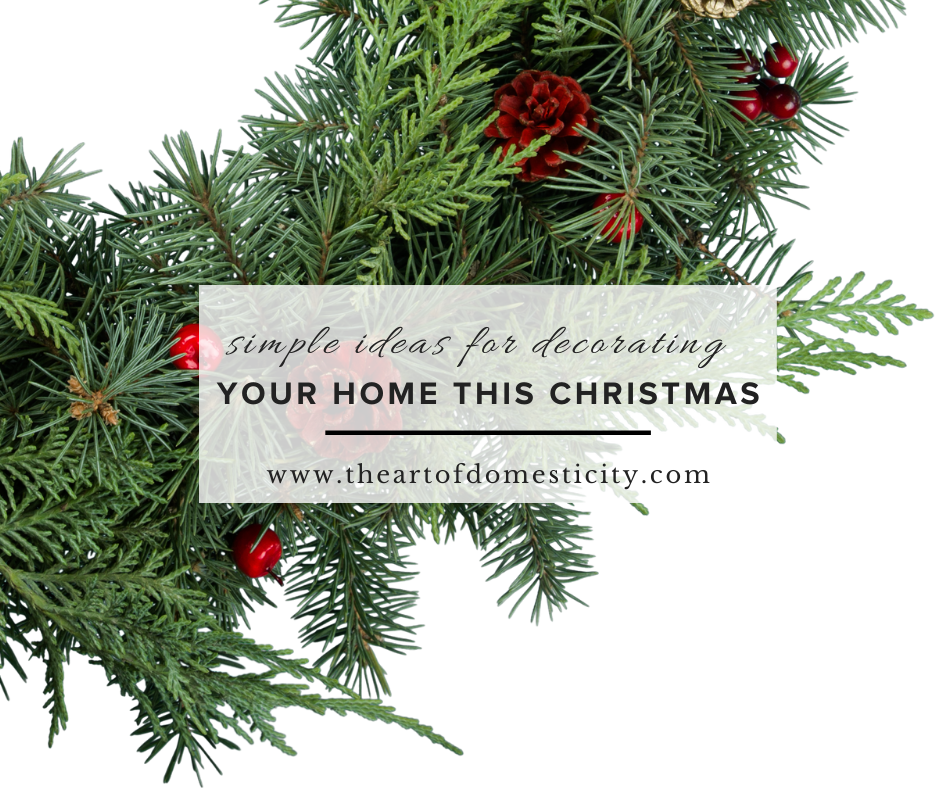 For those of who are not so natural at decorating, Christmas decorating can be a bit overwhelming. Here are SIMPLE ideas to decorate your home this Christmas you will love!