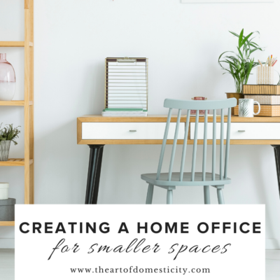 Creating a Home Office For Smaller Spaces