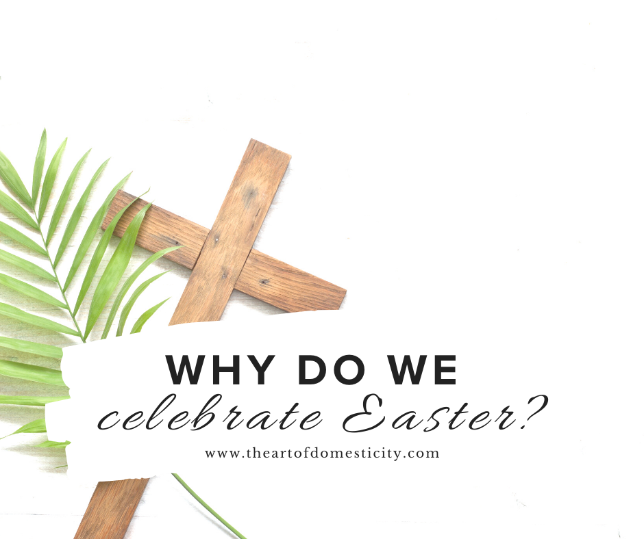 Easter is a time for us to celebrate, but do you know why? Easter is a celebration of the greatest day the earth has ever known....