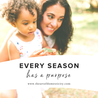 Every Season Has a Purpose